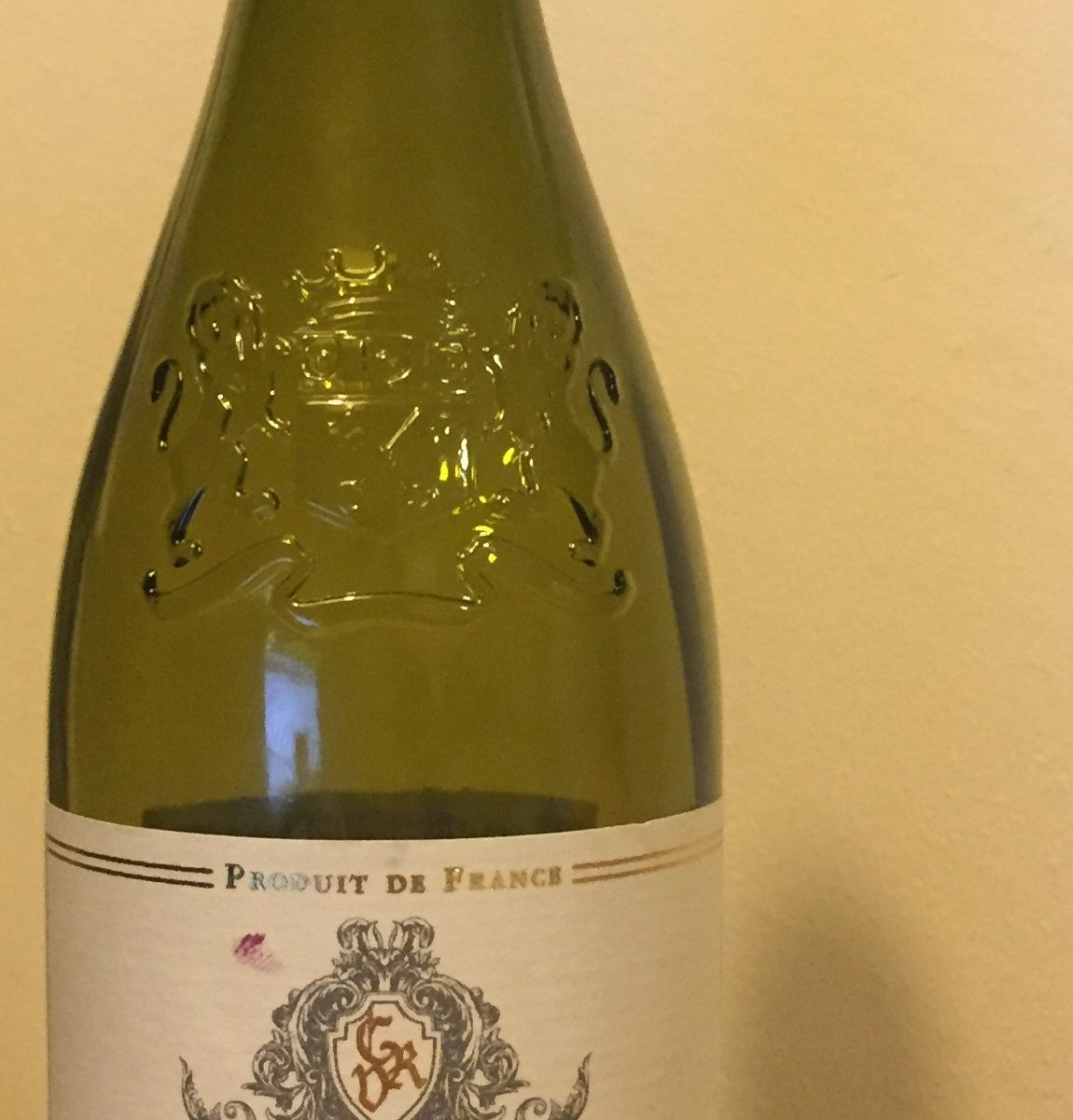 Cotes du Rhone Villages 2016 Front